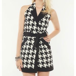 Storets Ultra Houndstooth Mini Dress